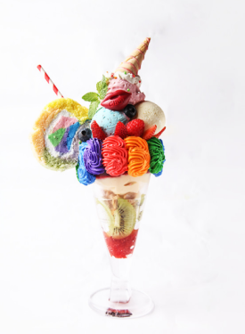 Colorful Poison Parfait